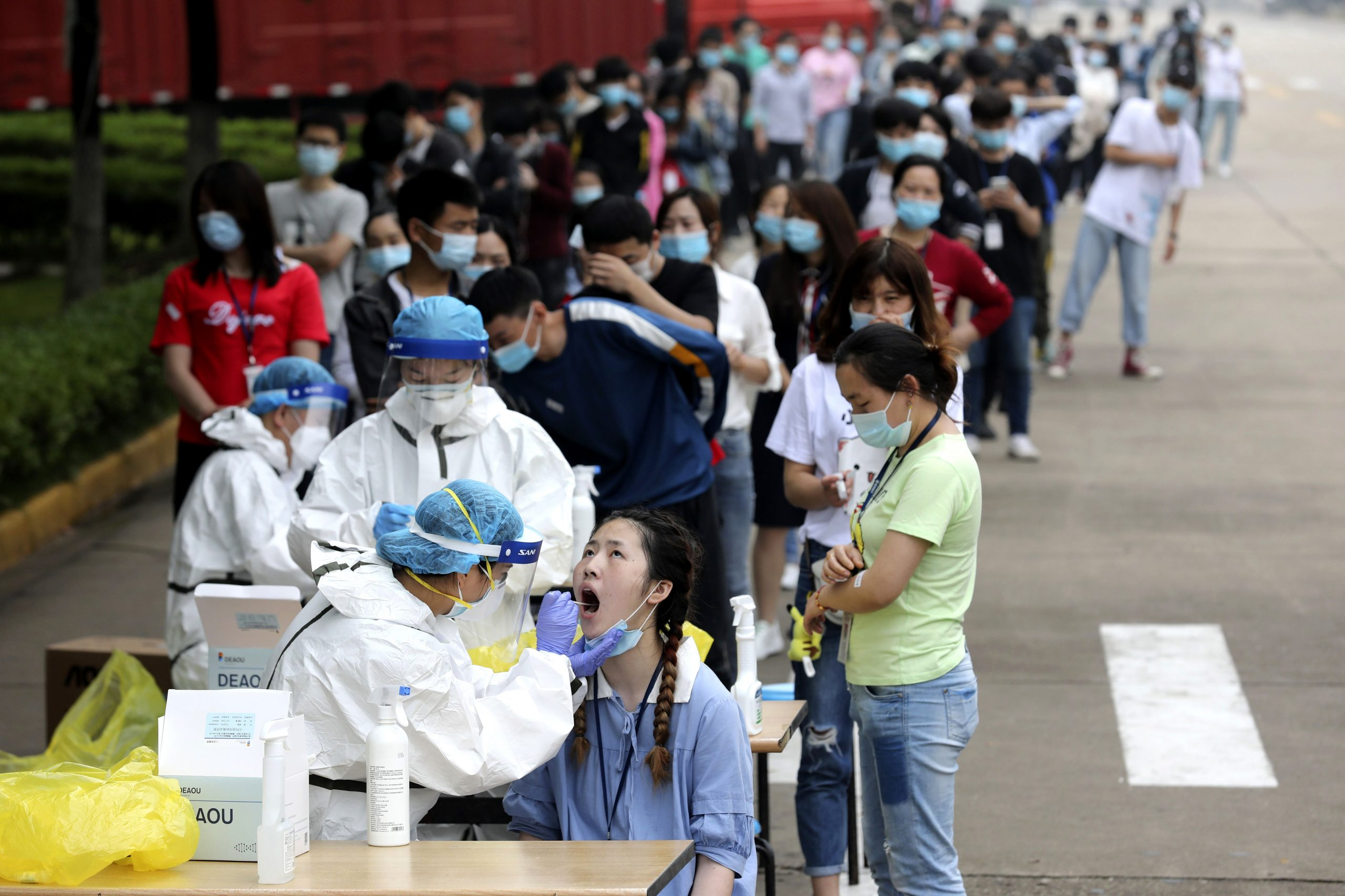 The Chinese CDC study found that the Coronavirus infection in Wuhan may be 10 times higher than reported