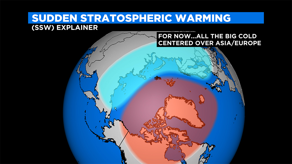 Big changes in the atmosphere can turn our calm winters into harsh winters - CBS Boston