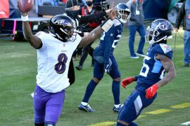 Here's why Lamar Jackson didn't shake hands with the Titans after Ravens won the playoff game