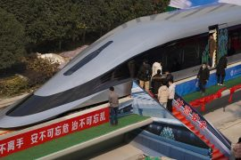 Maglev train: China launches prototype that can reach speeds of 620 kilometers per hour
