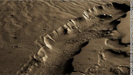 The study says that potential life on ancient Mars may have lived beneath the surface