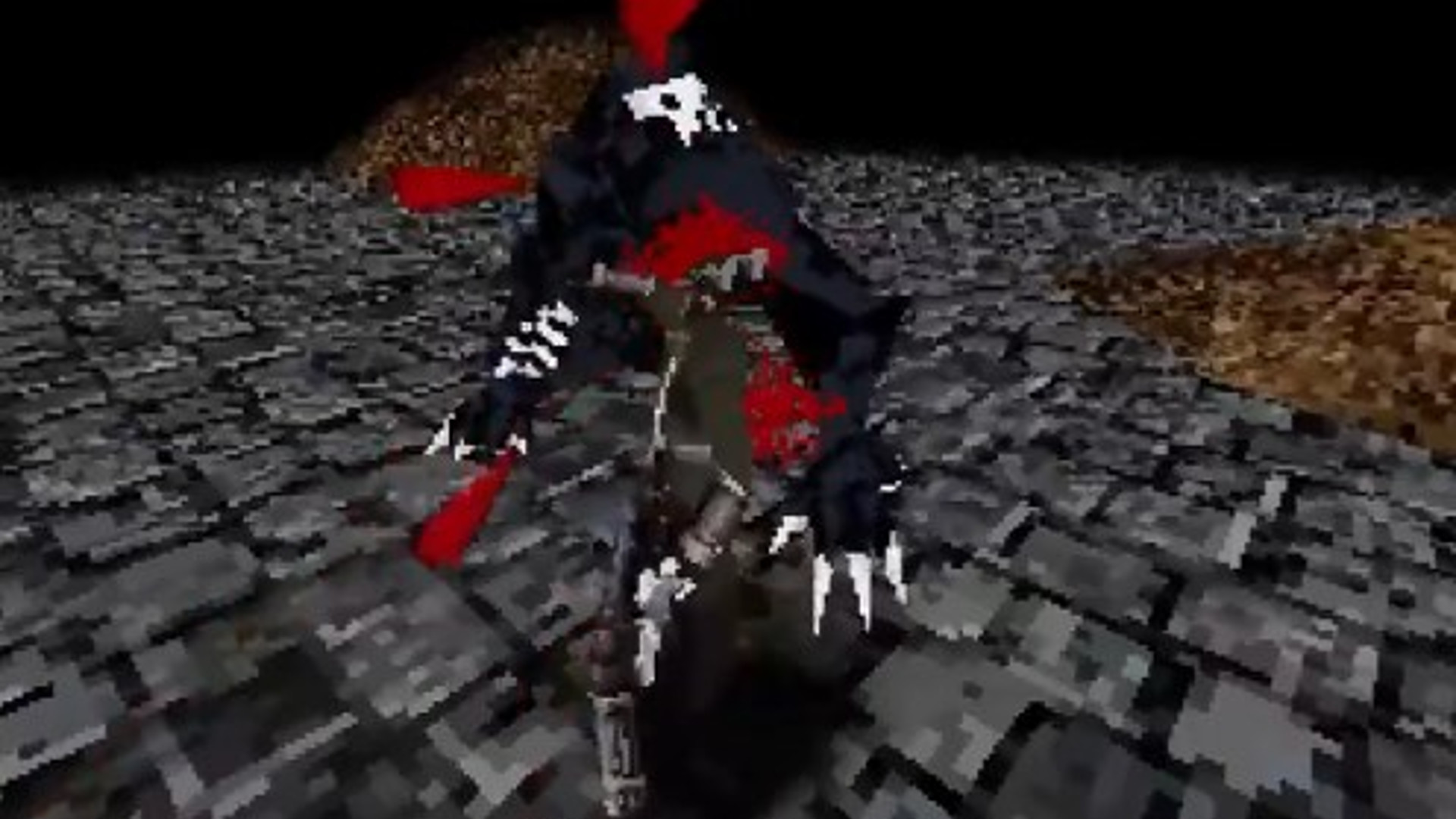 Bloodborne is remake as a PS1 game