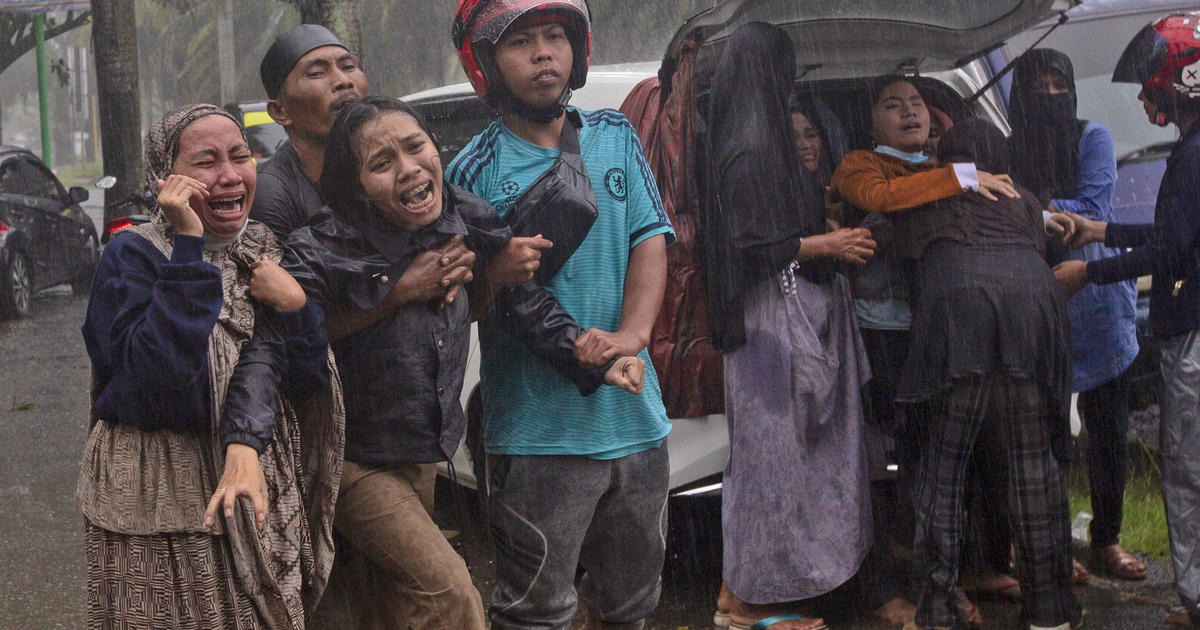 Dozens were killed in a strong earthquake in Indonesia that destroyed homes and buildings