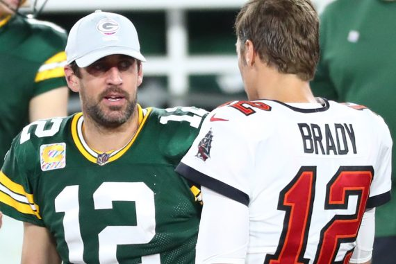 Here's what Tom Brady predicts vs.  Aaron Rodgers, Packers in NFC Title Game