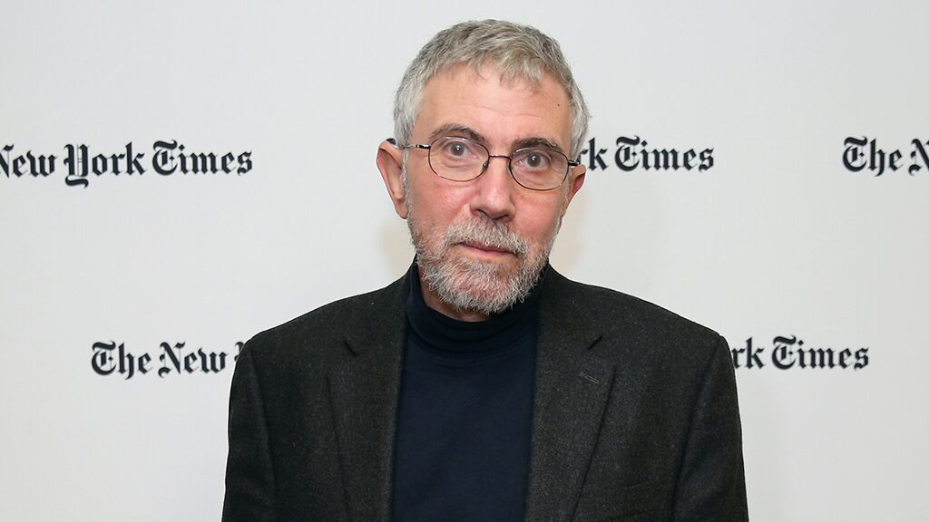 "Krugman mocked the New York Times for confusing ""My Country Tis of Thee"" from the British anthem at Biden's inauguration."