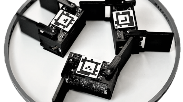 Learn about miniature robots that dance automatically