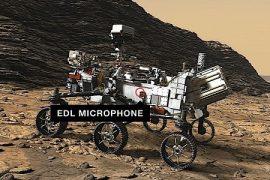 NASA's Perseverance probe hears something on its way to Mars