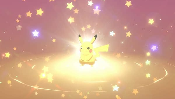 Yes, we can officially say, Pikachu was an animated 3D in space long before most humans appeared.  Courtesy of Nintendo.