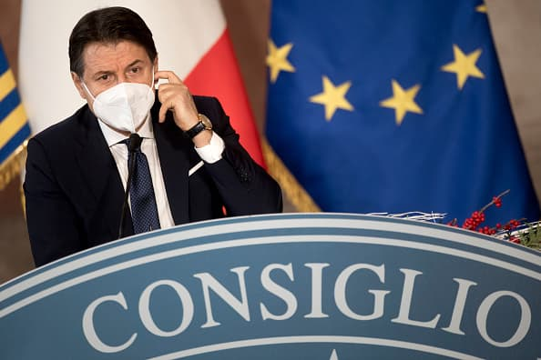 The stimulus dispute in Italy over the Coronavirus could push the government to collapse