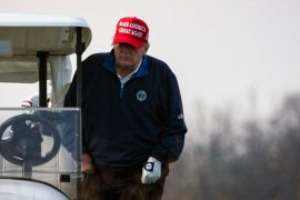 Trump furious not to host golf vs. accountability: New York Times